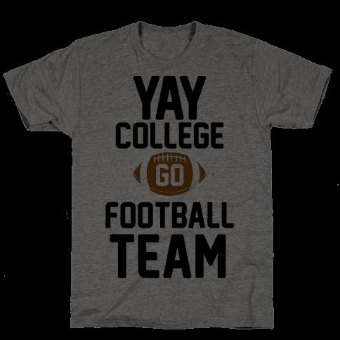 Yay College Go Football Team
