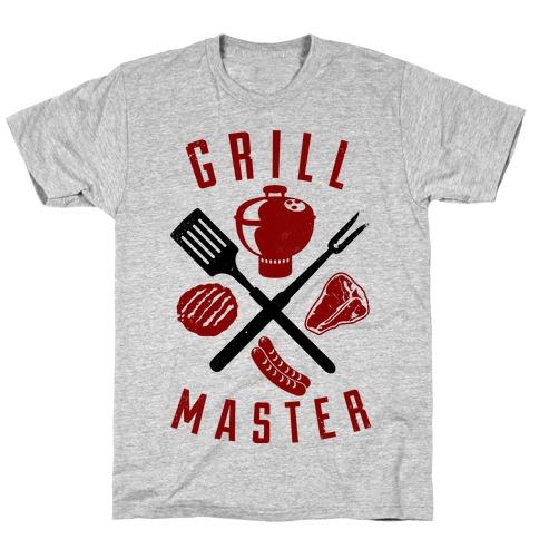 Grill Master Mens T-Shirt
