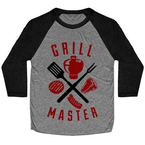 Grill Master Baseball Tee