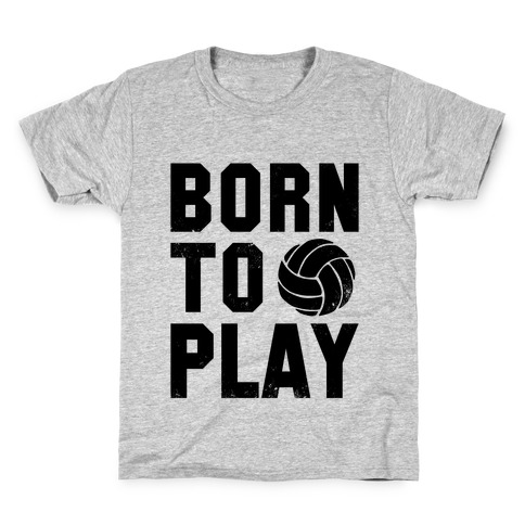Born to Play Volleyball (tank) Kids T-Shirt