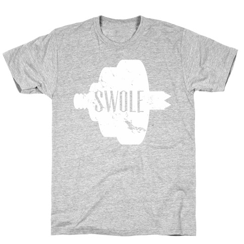 Swole Mates (Distressed White) T-Shirt