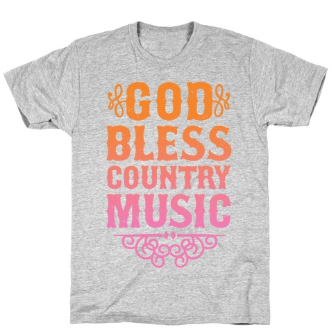 God Bless Country Music T-Shirt