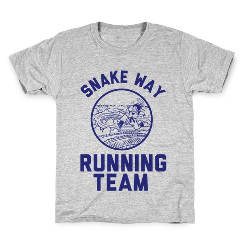 Snake Way Running Team Kids T-Shirt