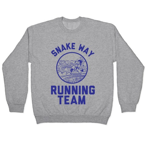 Snake Way Running Team Pullover