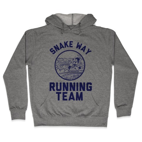 Snake Way Running Team Hooded Sweatshirt