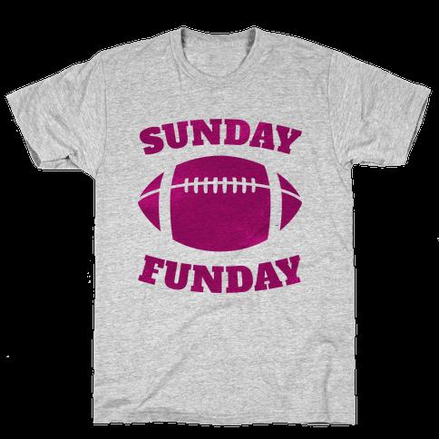 Sunday Funday (Pink) Mens T-Shirt