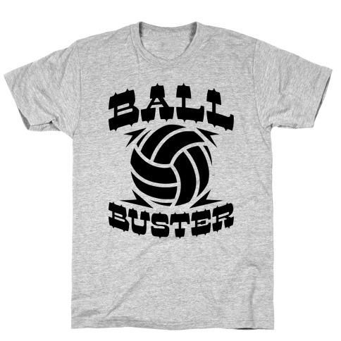 Ball Buster (Volleyball) Mens/Unisex T-Shirt