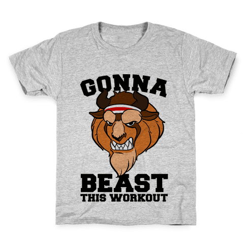 Gonna Beast this Workout Kids T-Shirt