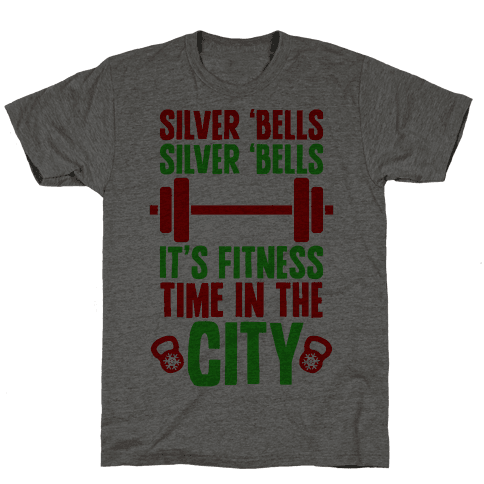 Silver Bells, Silver Bells, It's Fitness Time In The City