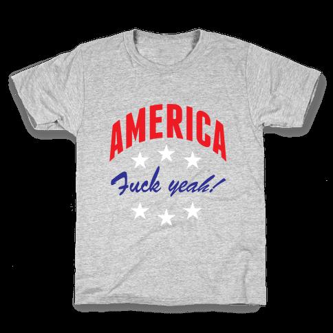 America F*** Yeah Kids T-Shirt