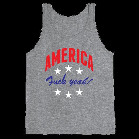 America F*** Yeah Tank Top