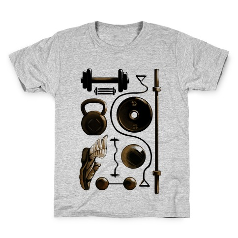 Lifting Items Kids T-Shirt