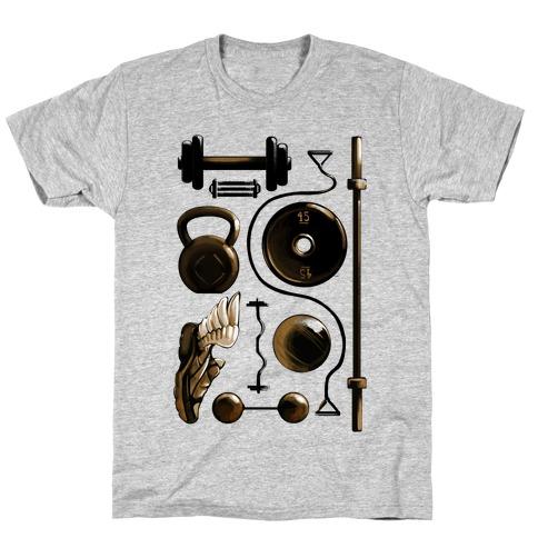 Lifting Items Mens/Unisex T-Shirt