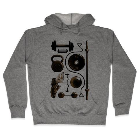 Lifting Items Hooded Sweatshirt