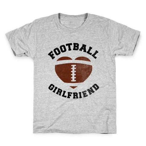 Football Girlfriend Kids T-Shirt