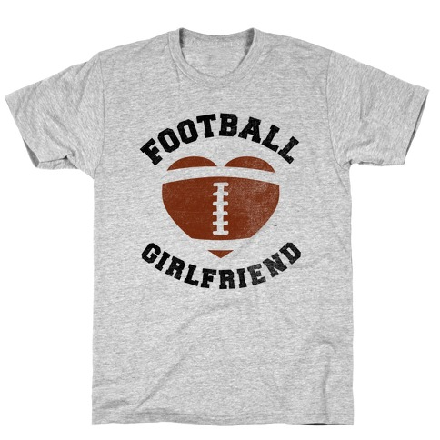 Football Girlfriend T-Shirt
