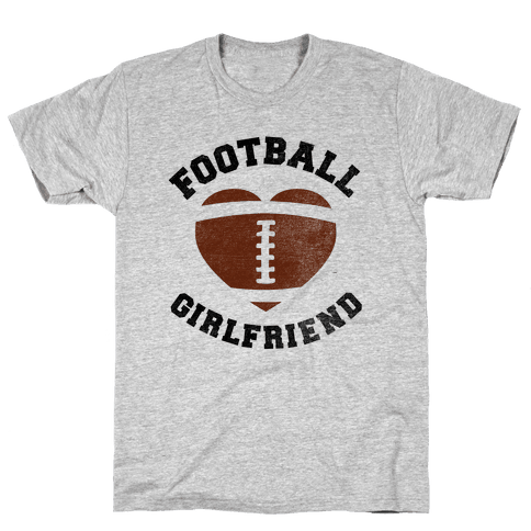Football Girlfriend Mens/Unisex T-Shirt