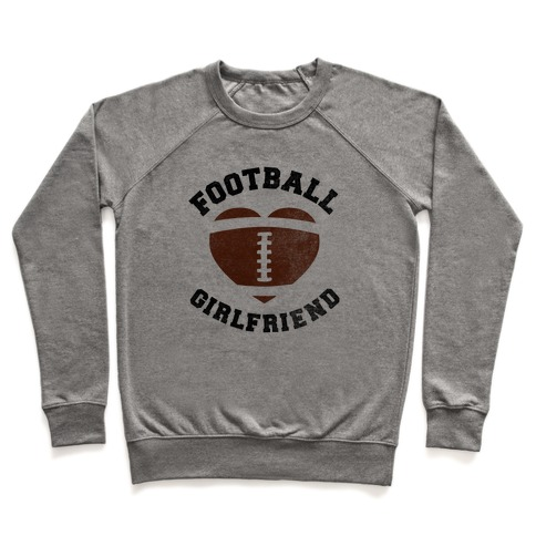 Football Girlfriend Pullover