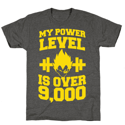 My Power Level is Over 9,000