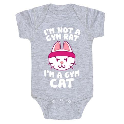 I'm A Gym Cat Baby Onesy