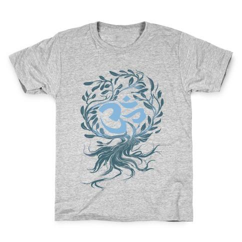 Tranquilly Om Kids T-Shirt