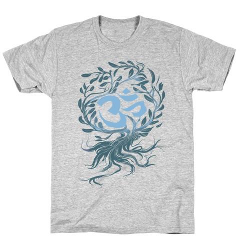 Tranquilly Om Mens/Unisex T-Shirt