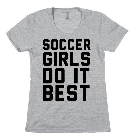 Soccer Girls Womens T-Shirt