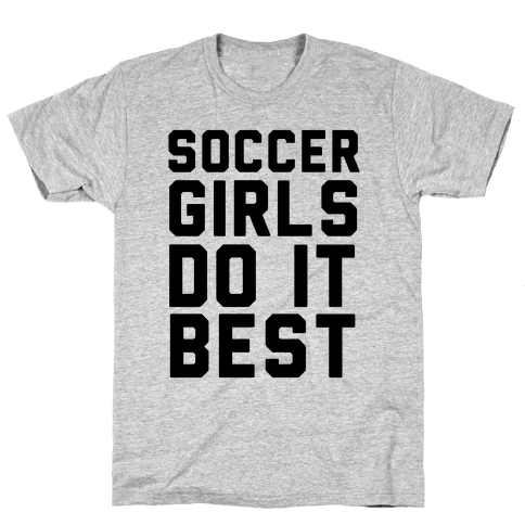 Soccer Girls Mens T-Shirt