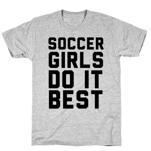 Soccer Girls T-Shirt