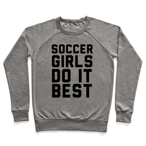 Soccer Girls Pullover