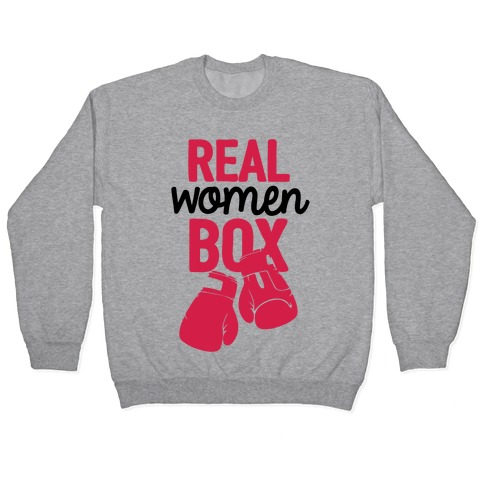 Real Women Box Pullover