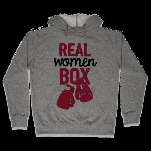 Real Women Box Hooded Sweatshirt