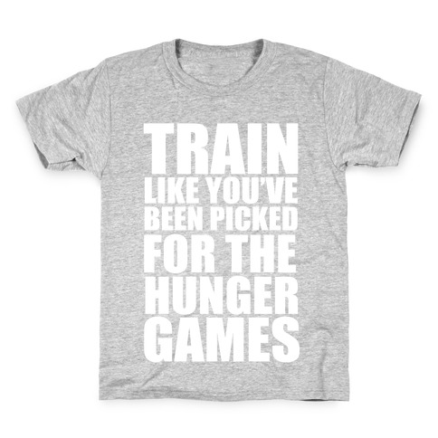 Train for the Hunger Games Kids T-Shirt