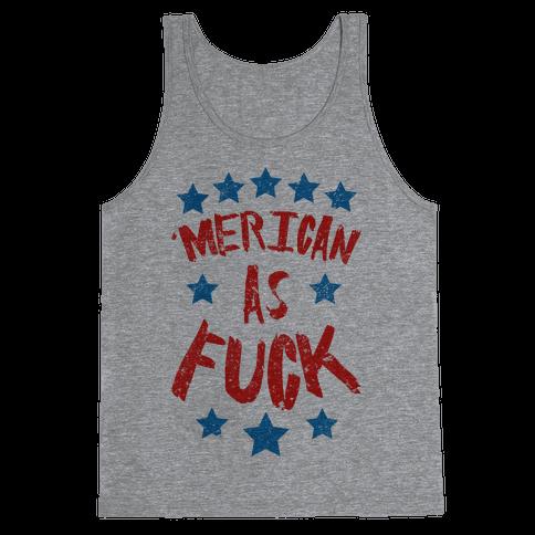 'Merican As F*** Tank Top