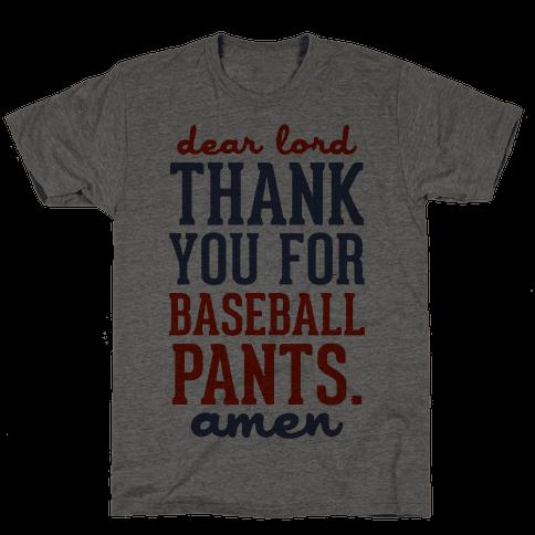 Thank You for Baseball Pants