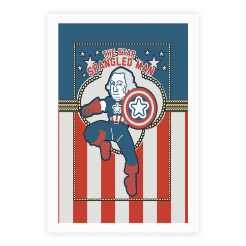 The Star Spangled Man Poster