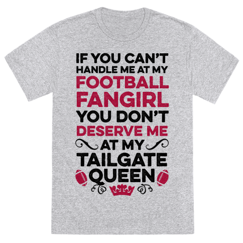 Football Fangirl & Tailgate Queen