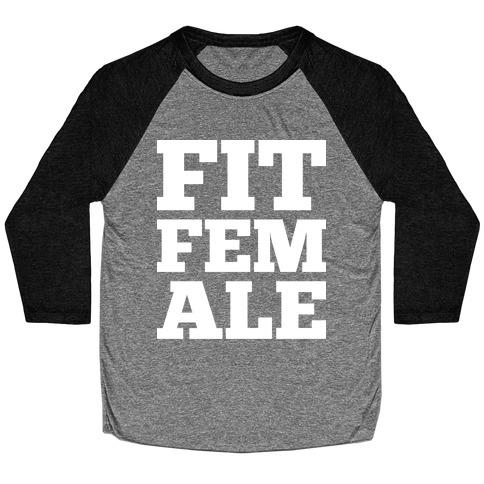 Fit Female Baseball Tee