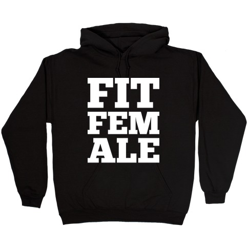 Fit Female Hooded Sweatshirt