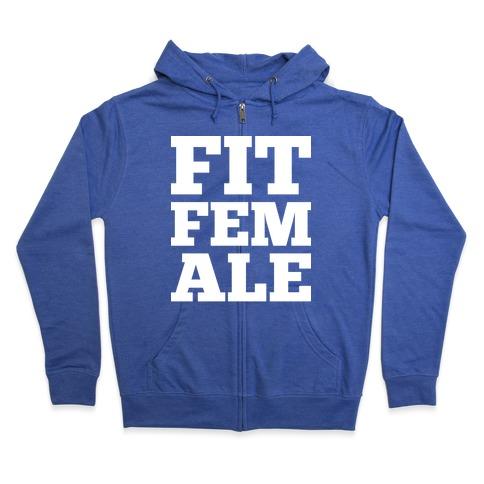 Fit Female Zip Hoodie