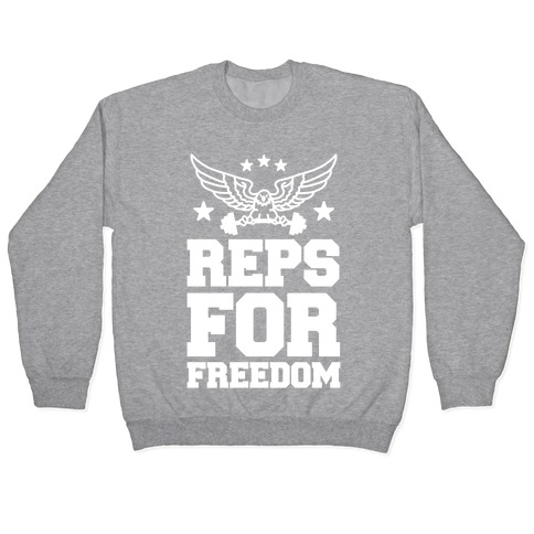 Reps For Freedom Pullover