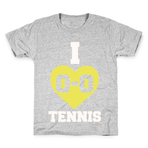 I 0-0 Tennis Kids T-Shirt