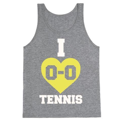 I 0-0 Tennis Tank Top
