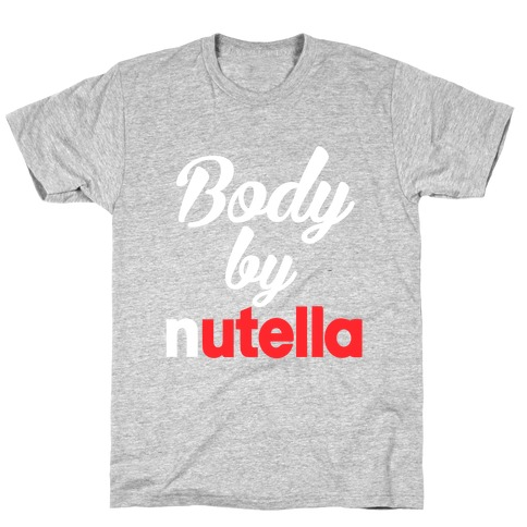 Body By Nutella Mens T-Shirt