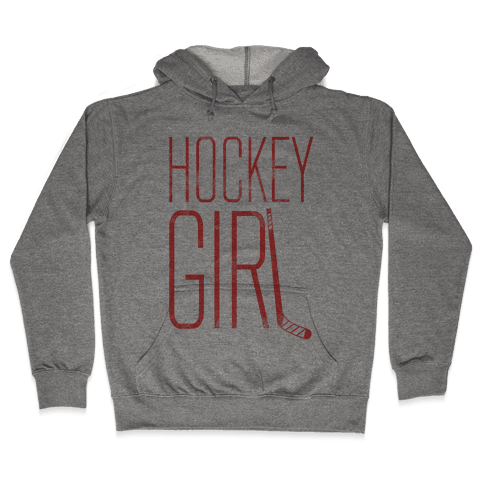 Hockey Girl Hooded Sweatshirt