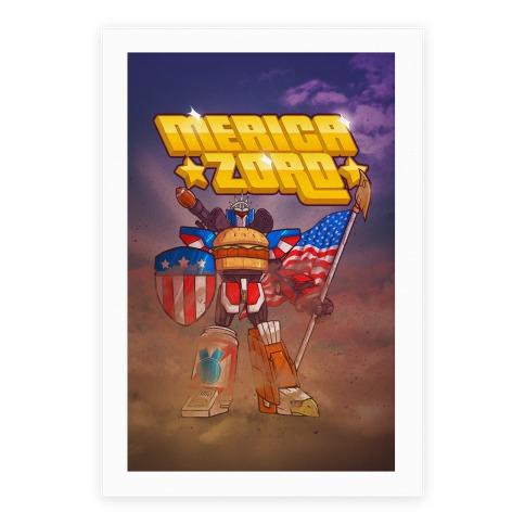 Merica Zord Poster