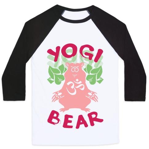 Yogi Bear Baseball Tee