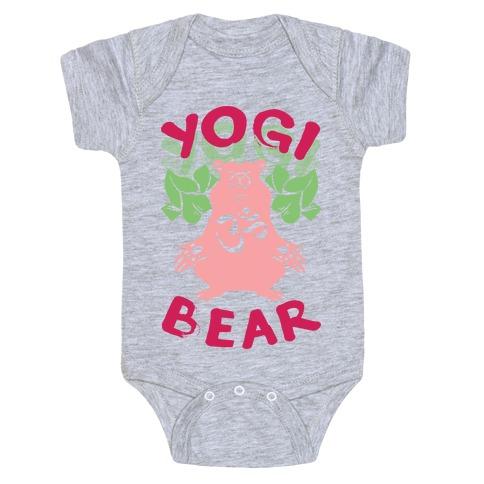 Yogi Bear Baby Onesy