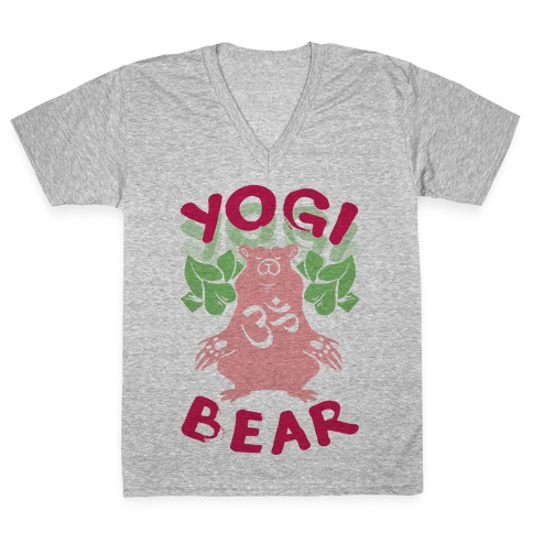 Yogi Bear V-Neck Tee Shirt