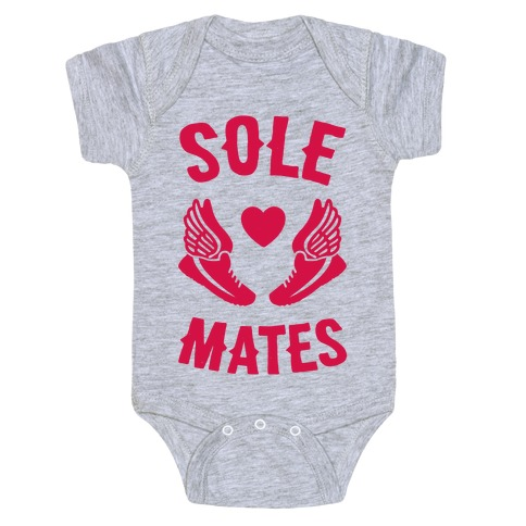 Sole Mates Baby Onesy